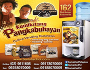 Coffee vending machine Dealers in the philippines