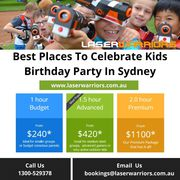 Best Places To Celebrate Kids Birthday Party In Sydney