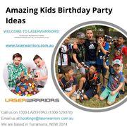 Amazing Kids Birthday Party Ideas - Laser Warriors