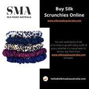 Buy Silk Scrunchies Online - www.silkmasksaustralia.com
