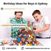 Birthday Ideas for Boys in Sydney