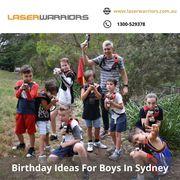 Birthday Ideas For Boys In Sydney - www.laserwarriors.com.au
