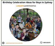 Birthday Celebration Ideas for Boys in Sydney - Laser Warriors