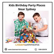 Kids Birthday Party Places Near Sydney - Laser Warriors