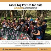 Laser Tag Parties for Kids - Laser Warriors