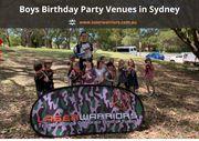 Boys Birthday Party Venues in Sydney - www.laserwarriors.com.au